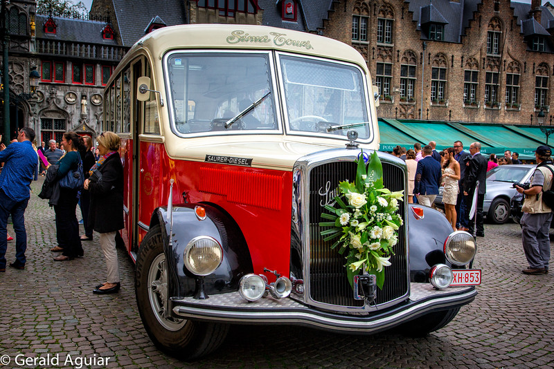 Bruges Wedding Transportation