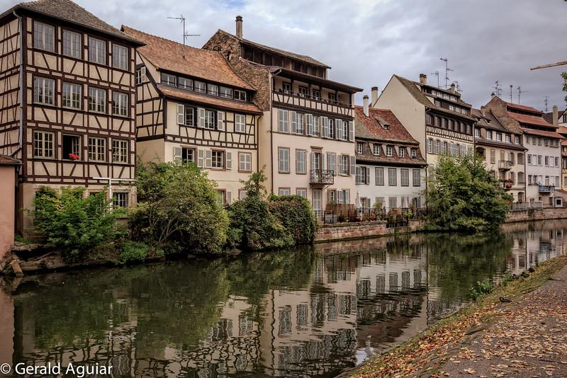 Strasbourg Canal Living Quarters