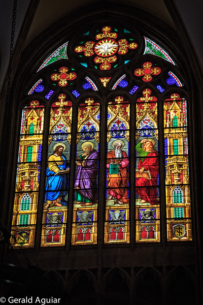 Stained Glass in the Basal Munster Cathedral