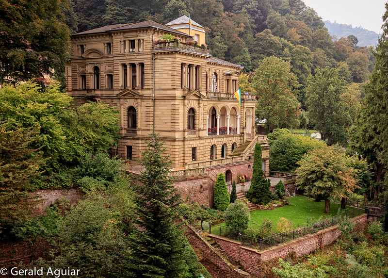 Aristocrat home near Heidelberg Castle