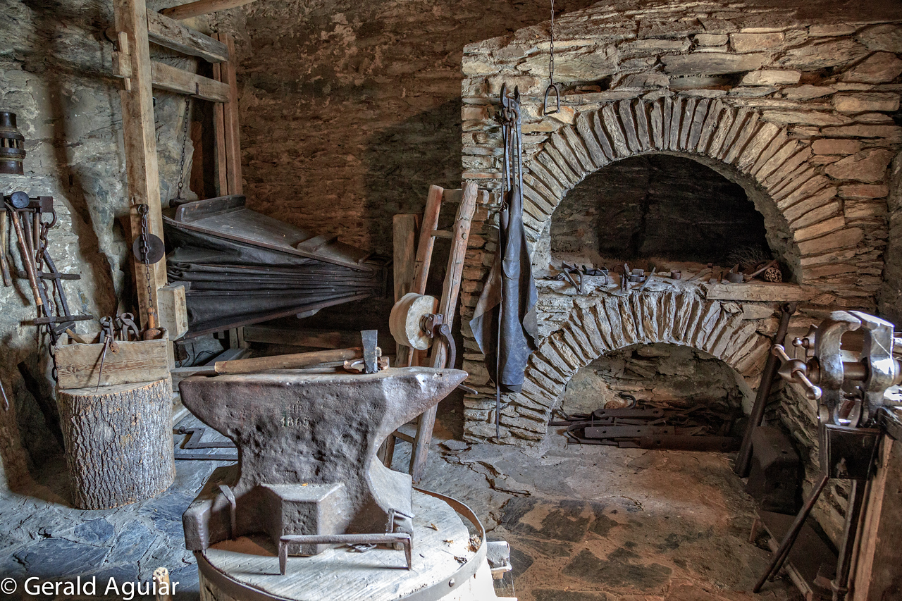 Blacksmith quarters in Marksburg Castle
