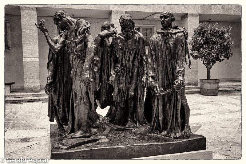 The Burghers of Calais Sculpture