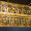 The Shrine of the Three Kings is a reliquary said to contain the bones of the Biblical Magi. It is housed in the Cologne Cathedral. The Shrine was completed around 1225.