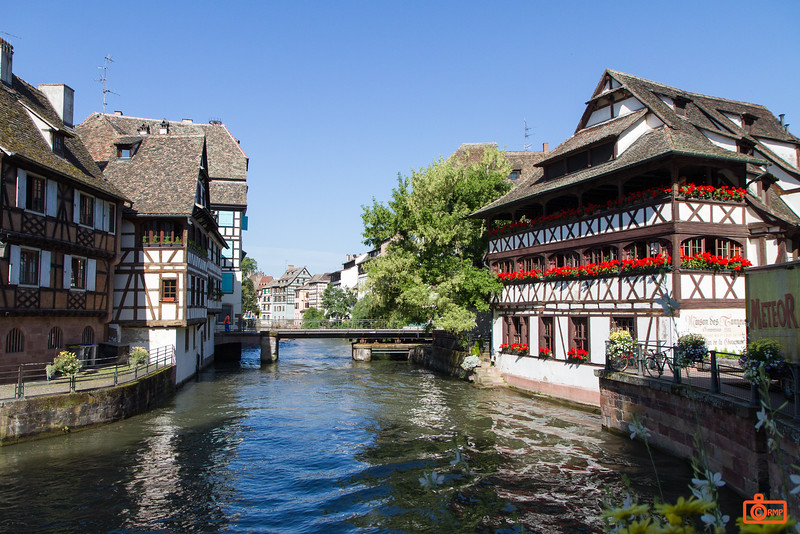 The Old Town of Strasbourg.