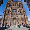 Strasbourg Cathedral (Cathédral Notre Dame de Strasbourg) is currently the worlds sixth tallest cathedral, but was the worlds tallest building for 227 years (1647-1874).