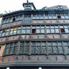 One of the older facades in the Old Town of Strasbourg.