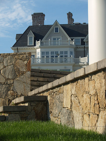 Mansion on the Cliff Walk, Newport