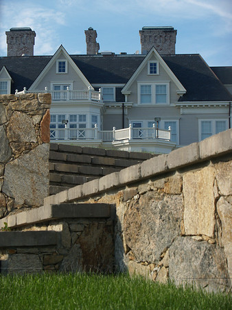Sneak peek at a mansion on the Cliff Walk, Newport