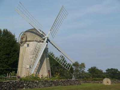 Jamestown Harbor and Windmill