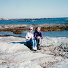 Sister Pauline and Donna  - Ocean Drive - Newport, RI  10-25-98
