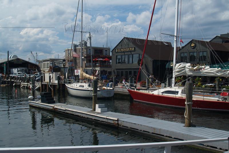Part of Bannister's Wharf, Newport RI
