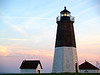 Point Judith Light : After our ferry ride from Block Island, we visited Point Judith Light near dusk, and witnessed some magical scenes