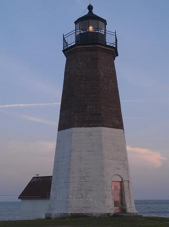 Point Judith Light  (mobile shot)