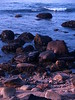 Sunrise at Weekapaug Beach - Boulders at Low Tide