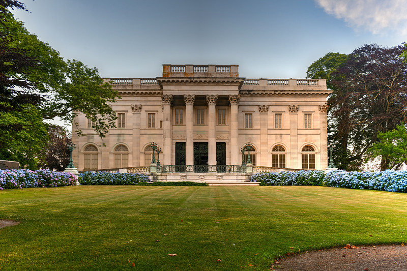 The Marble House Mansion - Newport, Rhode Island