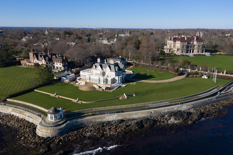 The Breakers and Cliff Walk - Newport, Rhode Island