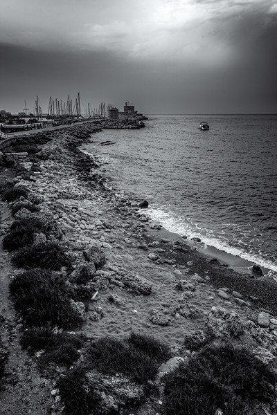 Rhodos-Mandraki-Hafen