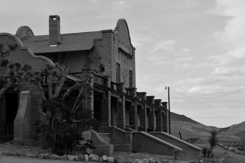 Railroad Depot at Rhyolite, NV