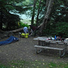 Night 1 - Camping adjacent to Diablo Lake in the N Cascades.