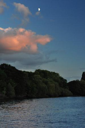 Richmond, Petersham & the River Thames Greater London. UK