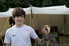 Andy with a cute little owl