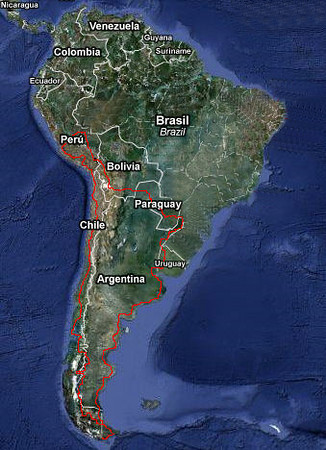 South America Ride Report Pictures