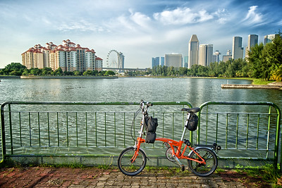 Ride & Shoot - Tracing the Kallang River