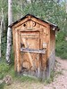 Outhouse next to the cabin. Not for use!