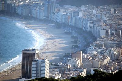 Ipanema Beach up Close