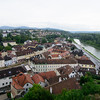 A view across the town of Melk