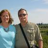 Molly and Alan at Kinderdijk