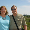 Molly and Alan at Kinderdijk