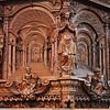 Pulpit carving detail, Niewe Kirk