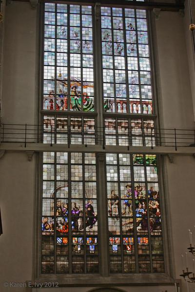 Niewe Kirk, window