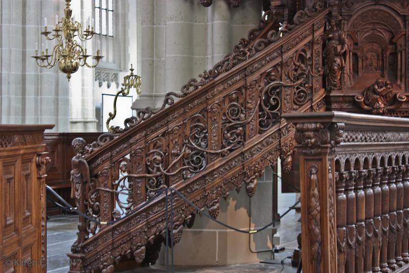 Pulpit staircase, Niewe Kirk
