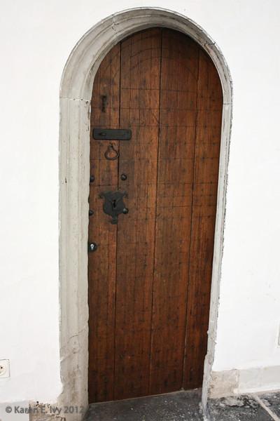 Oude Kirk - very old door