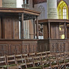 Oude Kirk - pews for the genty, chairs for everyone else
