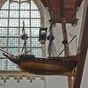 Oude Kirk - suspended ship models