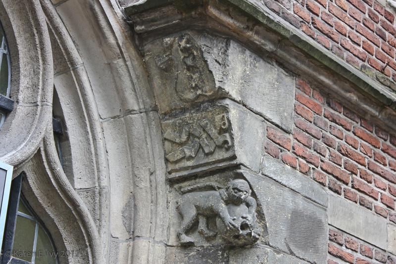 Oude Kirk, exterior detail