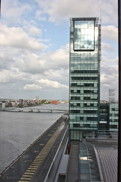 View from Moevenpick Hotel, Amsterdam