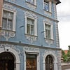Street in Bamberg - this building looks like Wedgwood china