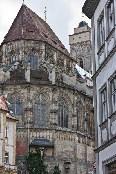 Back end of the Bamberger Dom.
