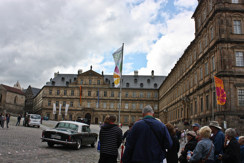 Die Neue Residenz or New Residence, the seat of the 17th and 18th century prince-bishops