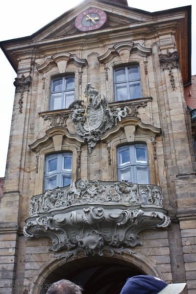 Entrance to the Altes Rathaus