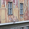 Altes Rathaus (old city hall) - note the plaster leg sticking out of the fresco!