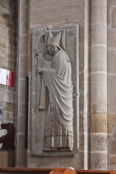 Bishop Berthold of Leiningen, Bamberg Dom