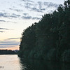Sunset on the Main-Donau Canal