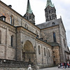 One side of the Dom - the Domplatz is quite steep
