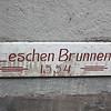 The Leschen Brunnen sign again