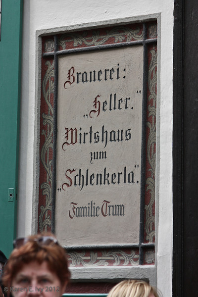 Braueri Heller-Trum, one of Bamberg's famous breweries